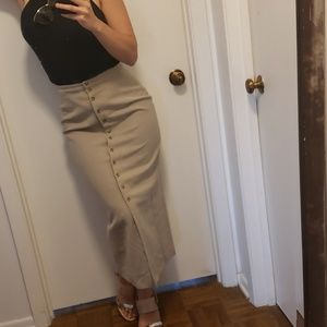 Vintage// Minimalist Skirt